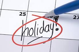MCX Holidays 2018 & 2019  List